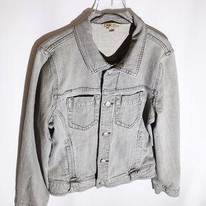 Light Grey Cabi Jeans Jacket Vintage Style  Large
